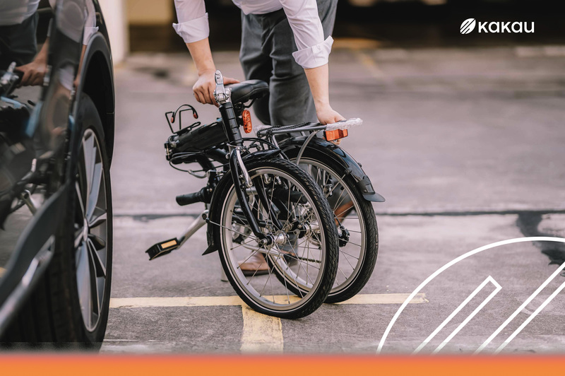 bicicleta dobravel bike kakau