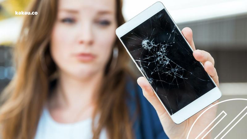 tela quebrada celular