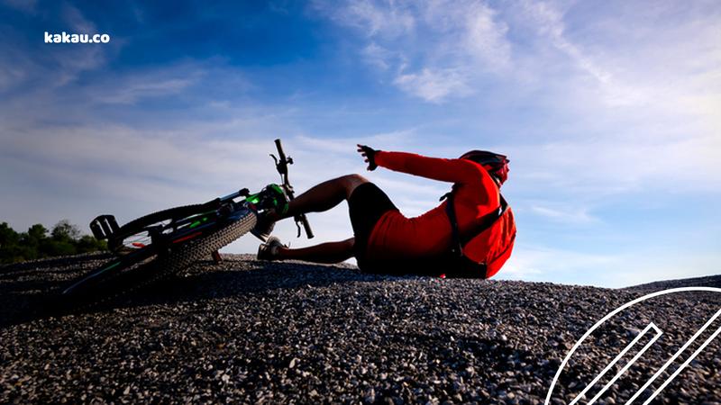 acidentes de bike